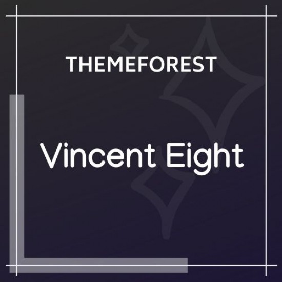 Vincent Eight | Responsive Multipurpose WordPress Theme 1.3