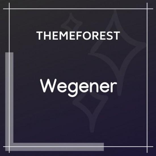 Wegener | Construction Engineering WordPress Theme 1.1