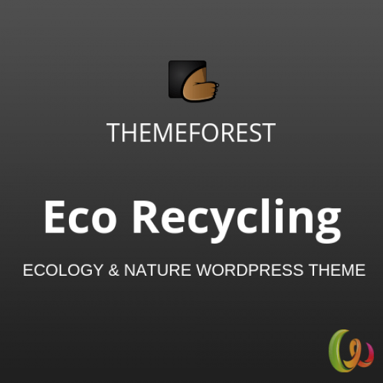 Eco Recycling Ecology Nature WordPress Theme 2.0.1