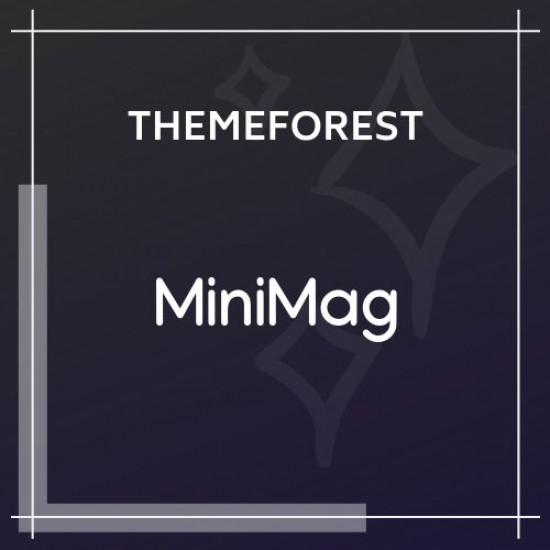 MiniMag Magazine and Blog WordPress Theme 1.3.7