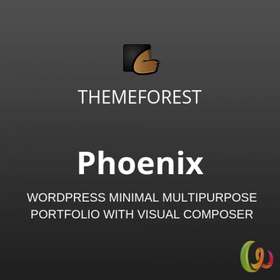 Phoenix WordPress Minimal Multipurpose Portfolio 1.5