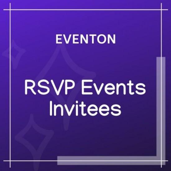 EventOn RSVP Events Invitees Add-on 0.4