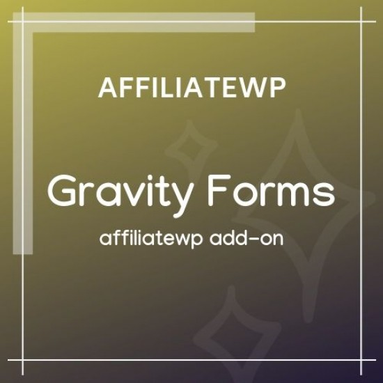 Affiliate Forms For Gravity Forms