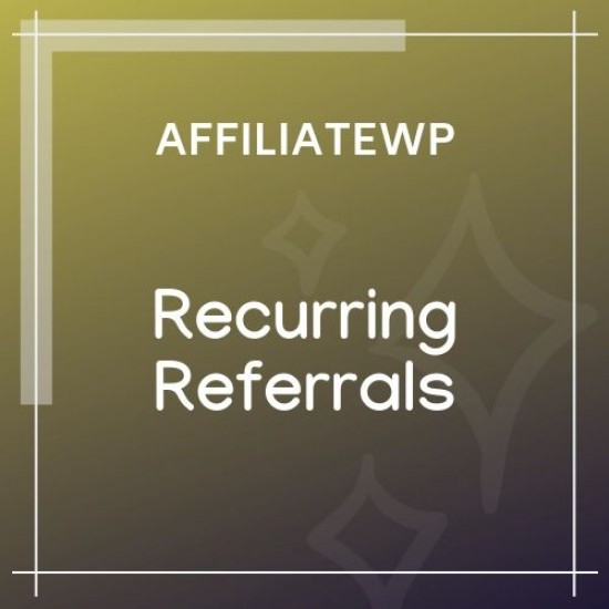 AffiliateWP Recurring Referrals