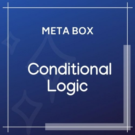 Meta Box Conditional Logic 1.6.11