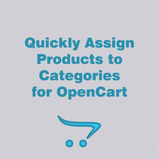 Quickly Assign Products to Categories for OpenCart