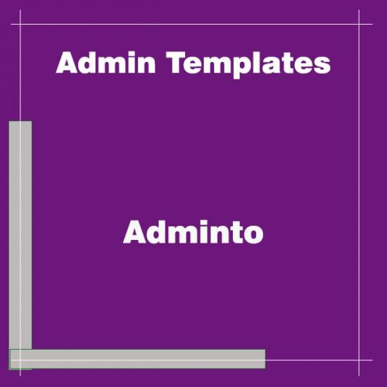 Adminto Admin Dashboard Template